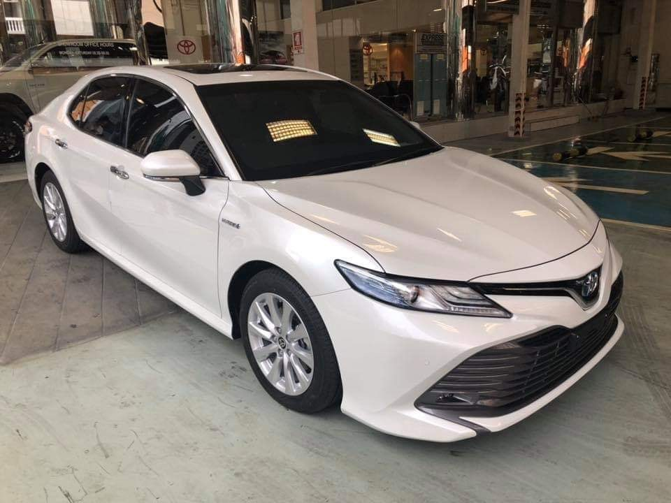 All new camry2019